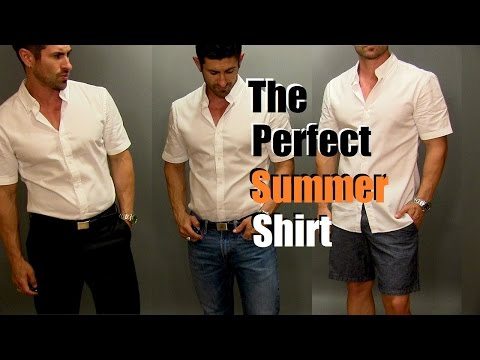 The Perfect Summer Shirt | Most Versatile Men's Summer Shirt Styled 3 Ways
