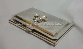 Metal fleur de lis business card holder buy metal card holder metal fleur de lis business card holder colourmoves