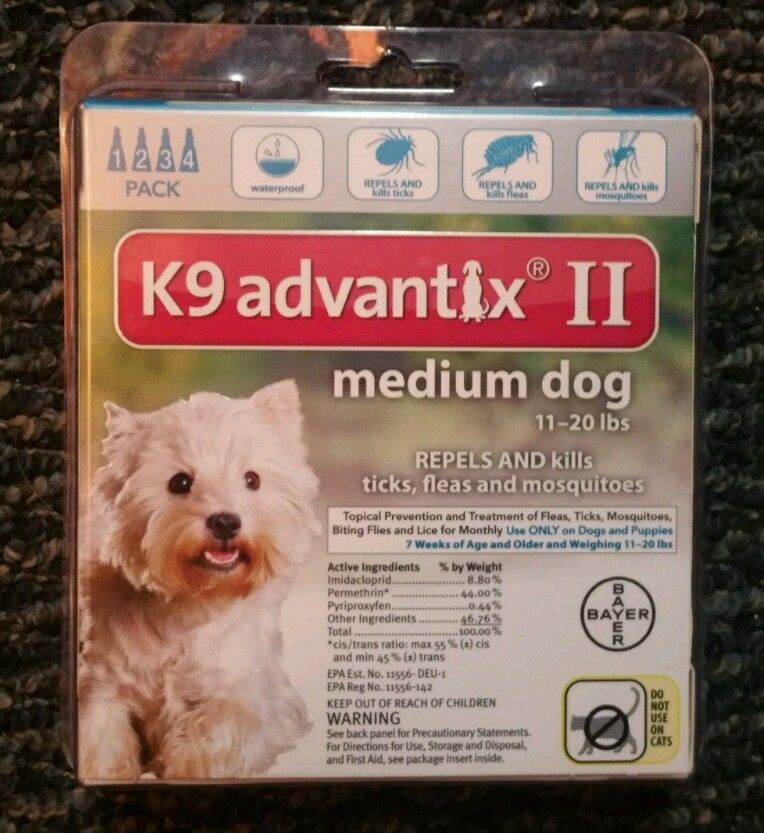 K9 Advantix II For Ticks, fleas and Pest Control For Medium Dogs