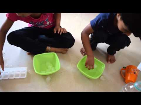 How ice cubes change Kids enjoyment | Shocked!