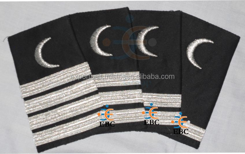 Epaulets And Rank Stripes For Pilot Uniforms And Pilot Shirts,Catch Me If  You Can Epaulets Rank Insignia - Buy Shoulder Epaulets,Shirts Epaulets,Rank
