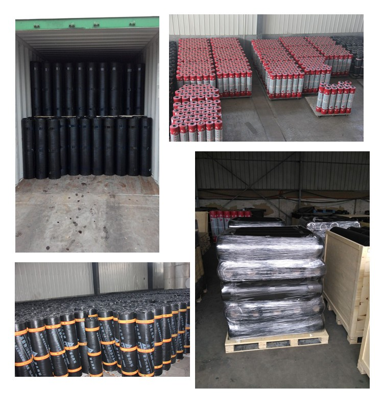Modified Bitumen Sbs App Waterproof Roofing Asphalt Sheet