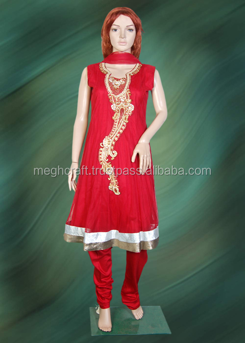 1eae49803 Indian Cheap Salwar Kameez Suits-Readymade Anarkali Salwar Suit-Pakistani  Dress Suits For Girls USD 15 -MOQ 30