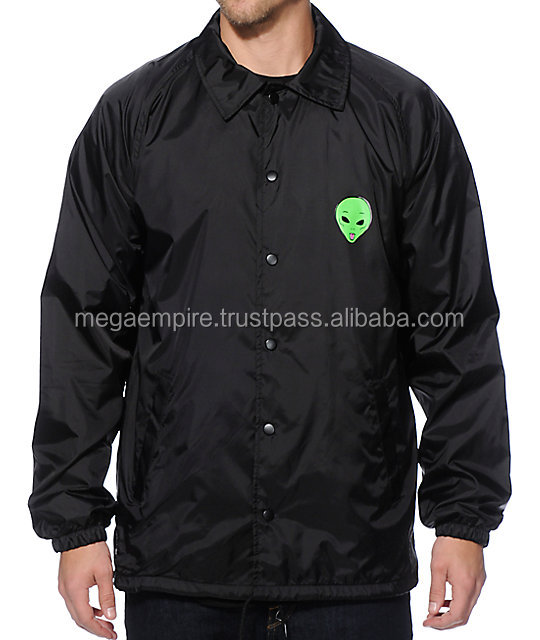 Windbreaker Coaches Jacket Polyester Nylon Coach Jacket