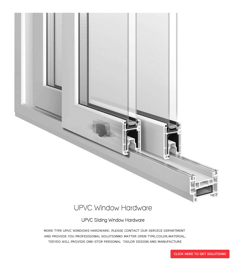 Teeyeo middle east upvc sliding window latch handles for for Double glazing manufacturers