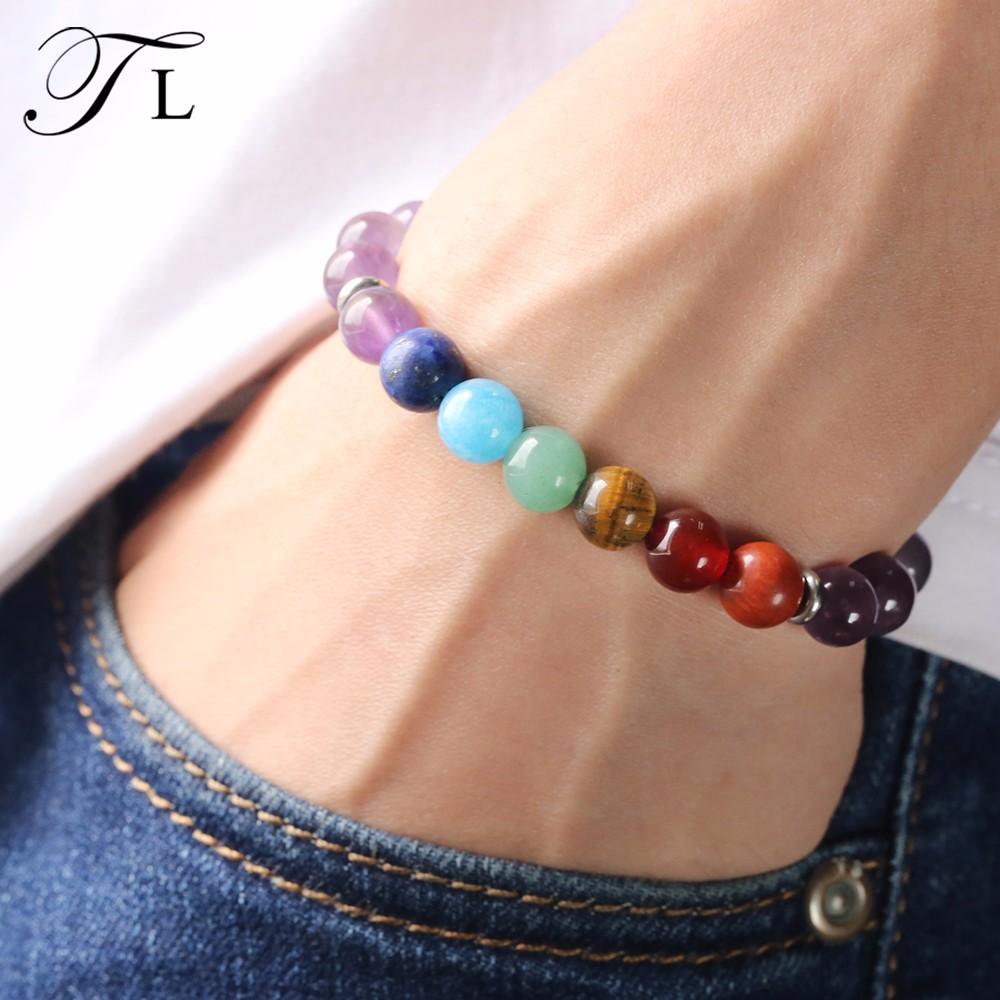 ab94184f4f7a Pulsera de mujer diseños elegantes nuevos diseños pulsera de yoga significa  pulseras de cuentas trenzadas