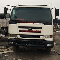 15cbm capacity bucket Used Nissan Isuzu Volvo dump truck for promotion