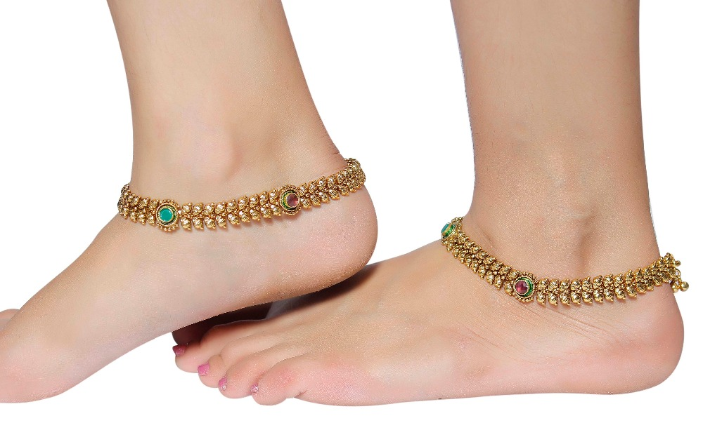 Indian Ethnic Designer Anklet Payal