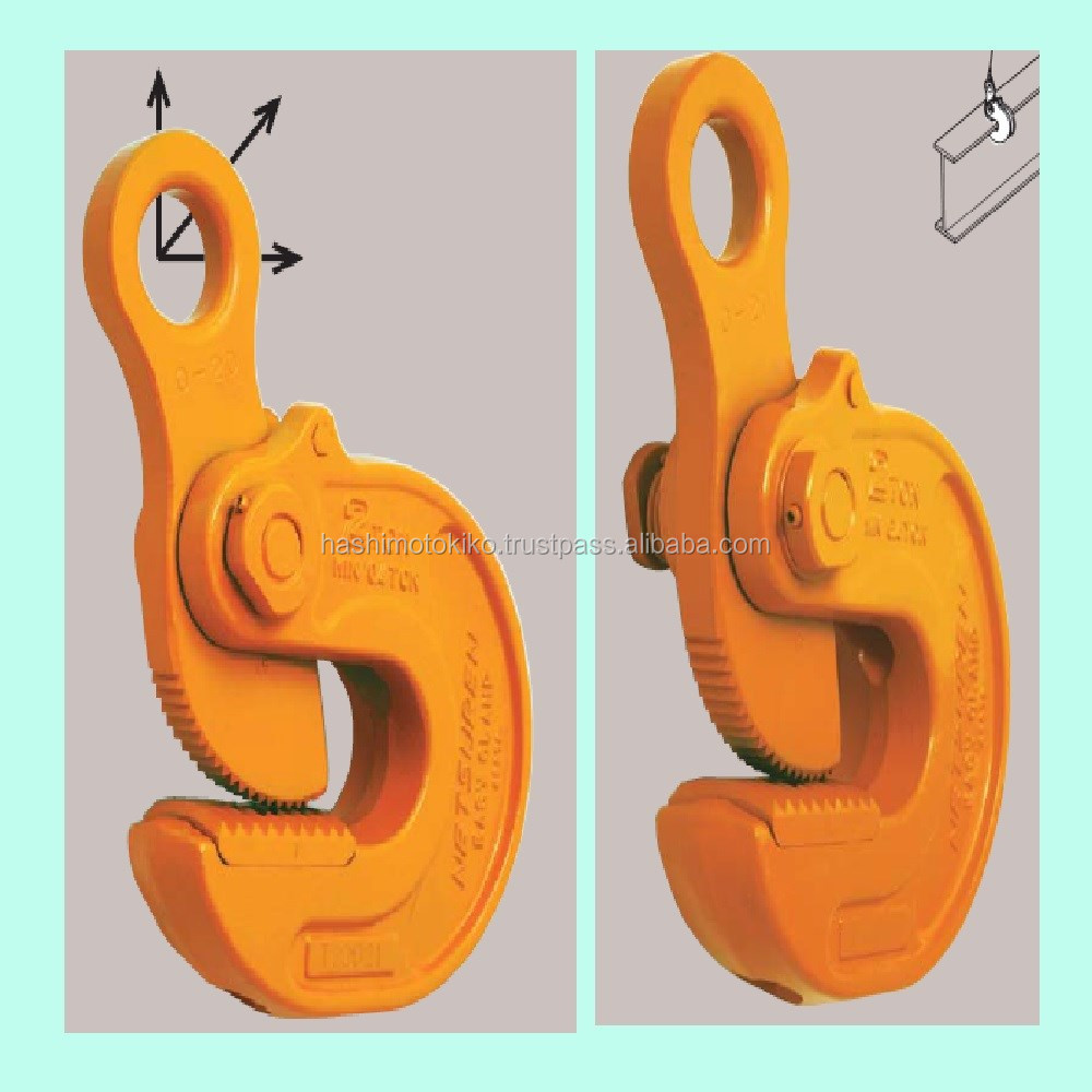Move freely the heavy steel professional heavy users wire hanging clamp