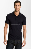 Black Mens Clothing Plain Polo Shirt | S M L XL 2XL 3XL | Custom design