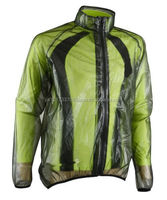 Unisex Translucent/Clear Crossroads Cycling Rain/Water Proof Jacket