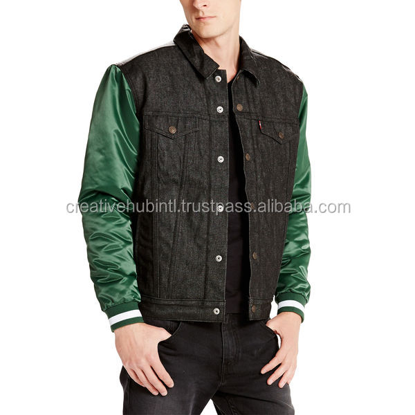 Jackets / All Wool Black Varsity Jacket