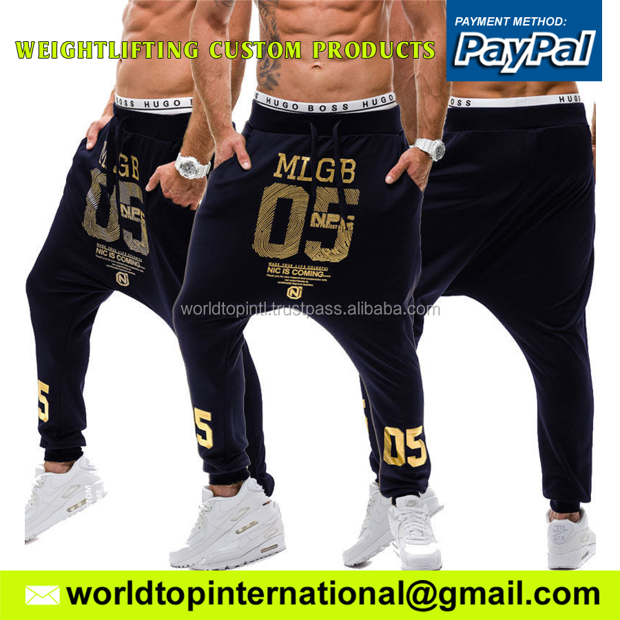 New Range Tapered Slim Fit Gym Man Joggers Track Pants / Fleece Custom Logo Sweatpants Gym Trouser Fitness Bottom