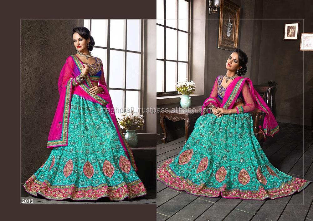 Wholesale Designer Saree-party Wear Sari-indian Etnic Saree ...
