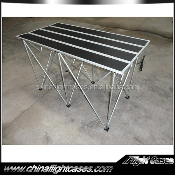 China Manufacturer Plywood Dj Flight Case Table Small Portable ...