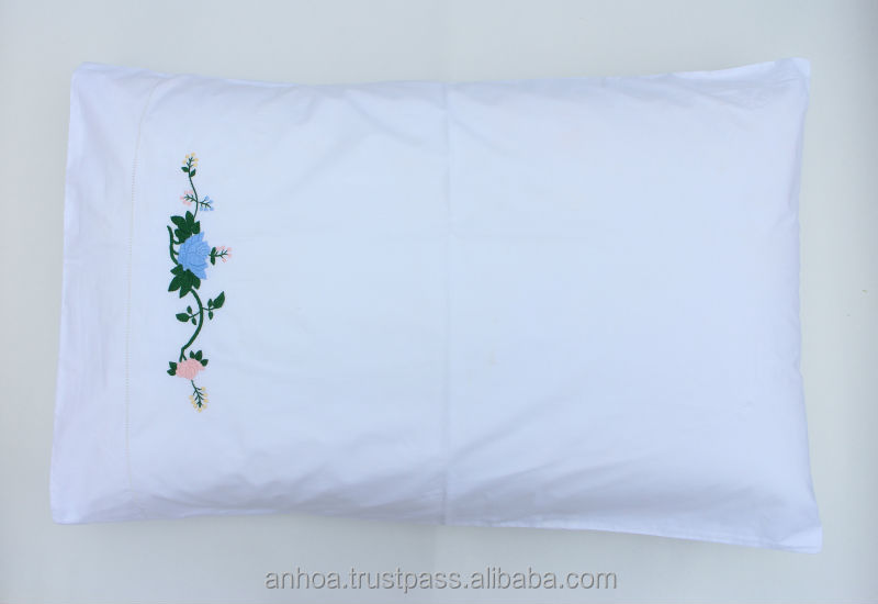 Hand embroidery designs pillow case buy