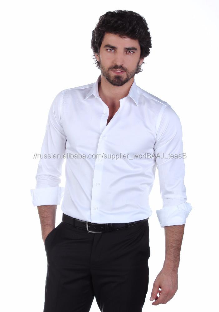 6235e631e8f9364 Мужская 100% хлопок атласные рубашки с нескольких цветов-Рубашки для ...