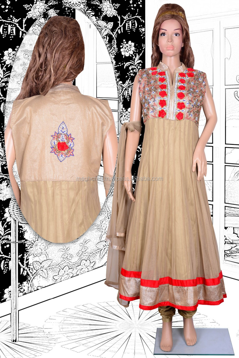 Bollywood Style Anarkali Suit-indian Readymade Bridal Long ...