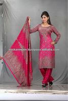 Ladies high fashion-Designer Shawl Suit / salwar