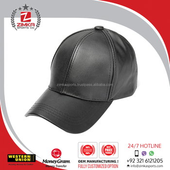 Blank Leather Strap Back Hat Suede Baseball Cap - Buy Black Leather ... 038700b1055