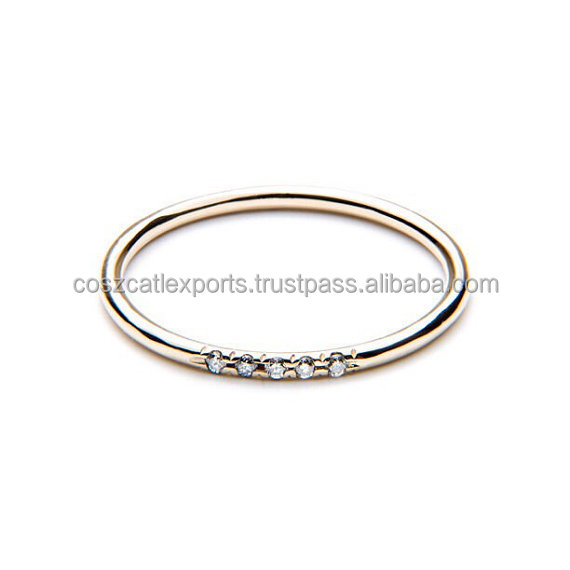 Cheap Wholesale New Design Gold Ladies Finger Ring For Girls,Silver CZ Diamond Rings Price Stainless
