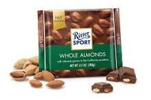 BEST PRICE RITTER SPORT 100g Whole Almonds Chocolate