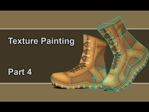 Texture paint mudbox tutorial part4