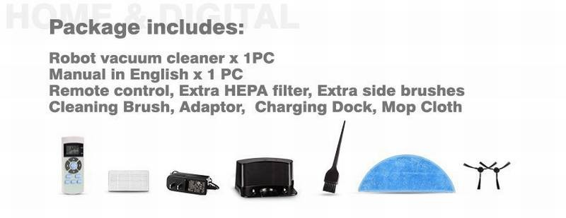 CHUWI Mopp Roboter-staubsauger für Haus HEPA Filter Sensor fernbedienung Selbstlade ROBOTER ASPIRADORGroßhandel, Hersteller, Herstellungs