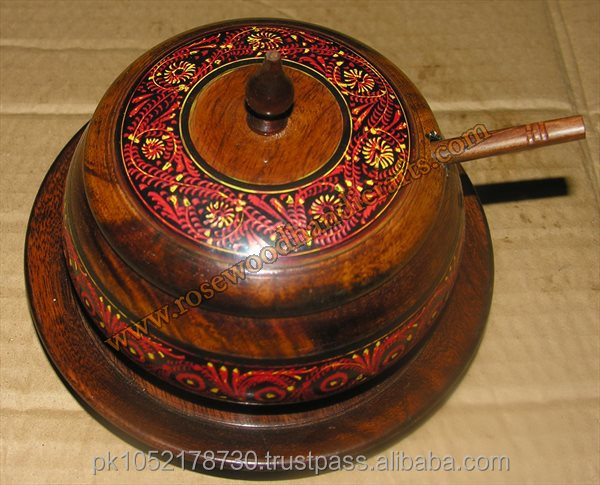 Woodcraft New Sugar Pot - Wood Tea Coffee Sugar Pot - Handmade ...