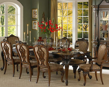 Exotic Wood Dining Tables Banquette Room Furniture Fancy Living Table