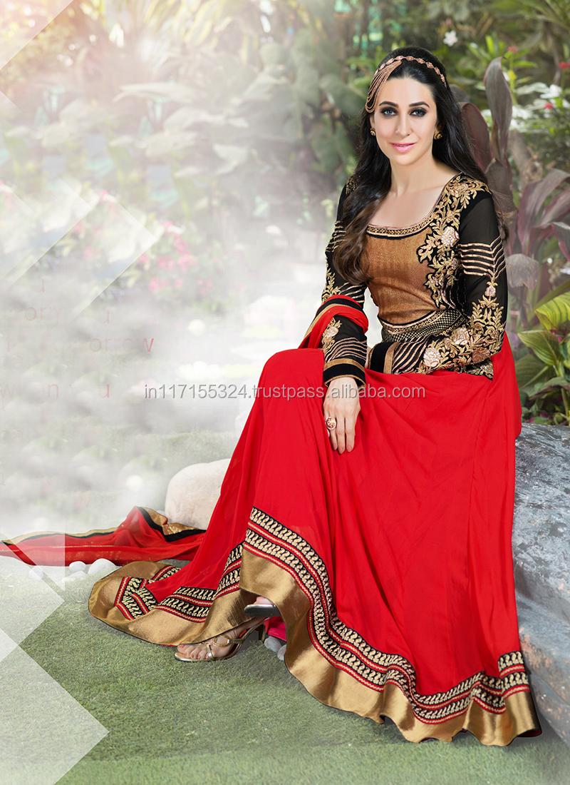 New Bollywood Indian Party Wear Anarkali Long Pakistani Salwar ...