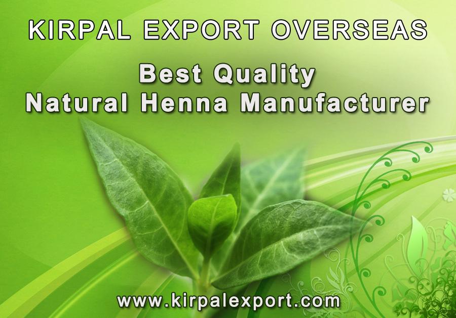 Natural Safe Organic Henna Powder Mehndi