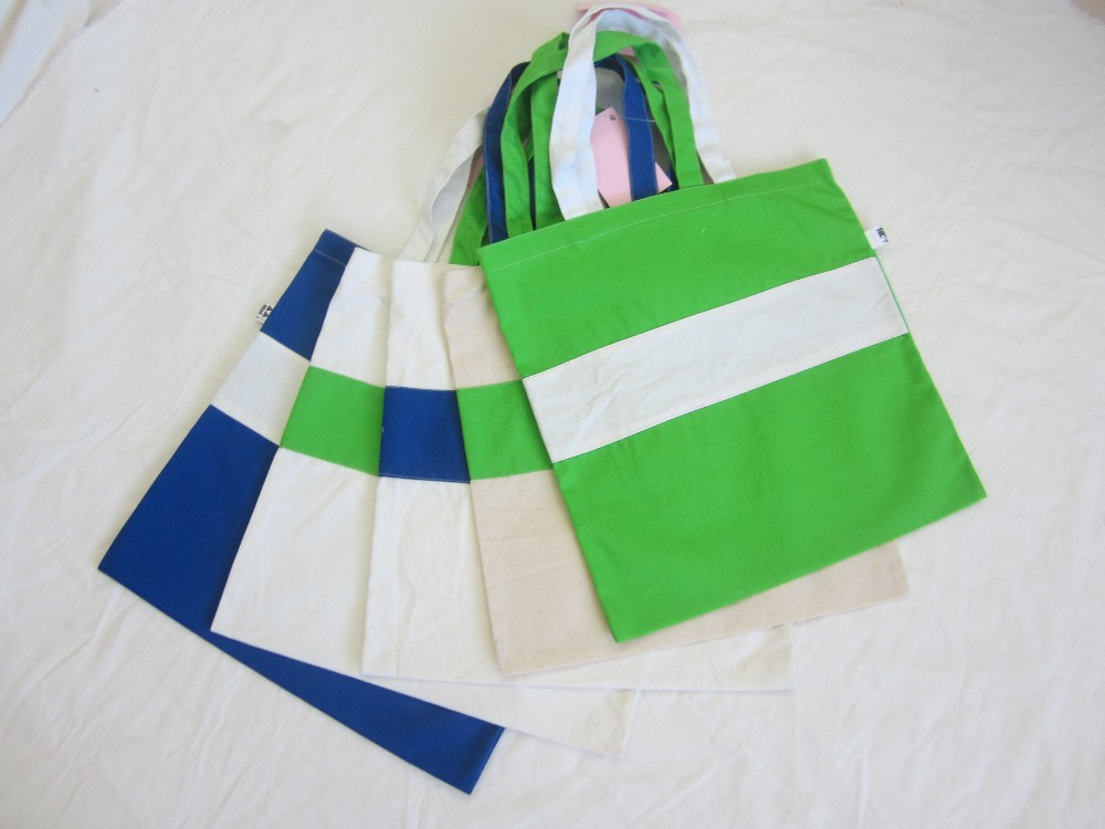 Customized cotton promotion organic cotton tote bags wholesale