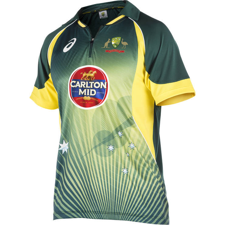 Own design cricket jersey buy sublimation cricket jersey for Design t shirts online australia