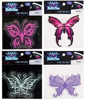 BUTTERFLY CAR DECAL FD #026644Q
