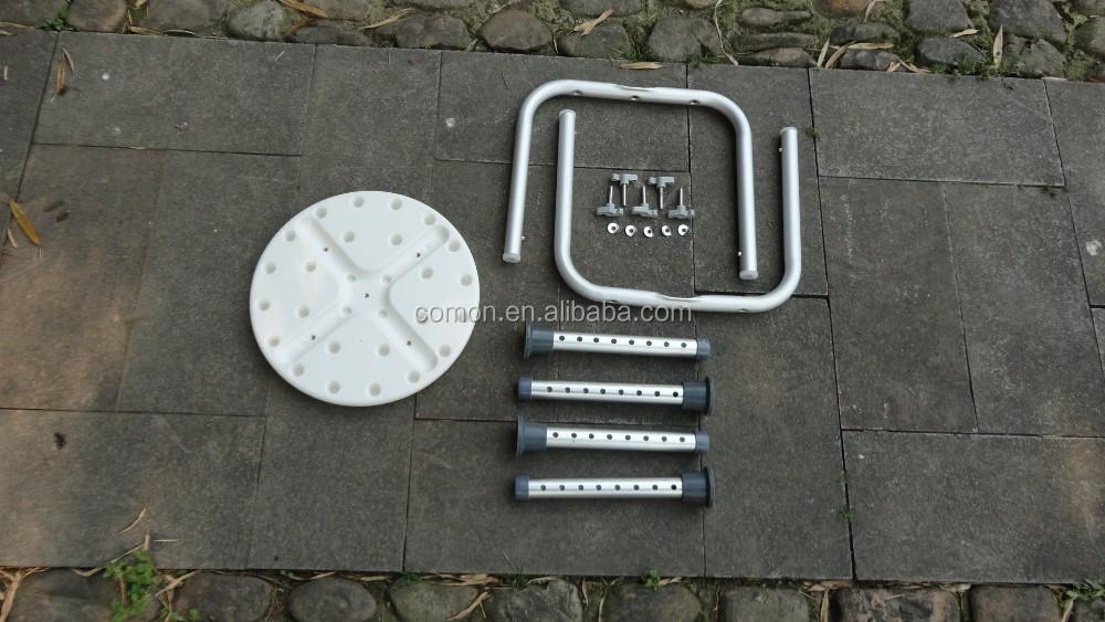 Tool-gratis Montage 4 Benen Verstelbare Ronde Douche Stoel ...