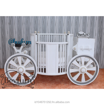 Round Carriage Baby Cribs Buy Custom Made Wood Baby Crib