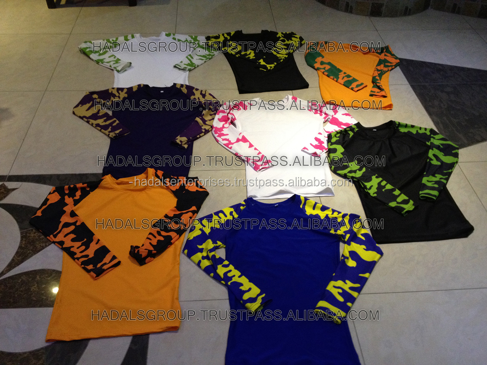 Custom design compression shirts