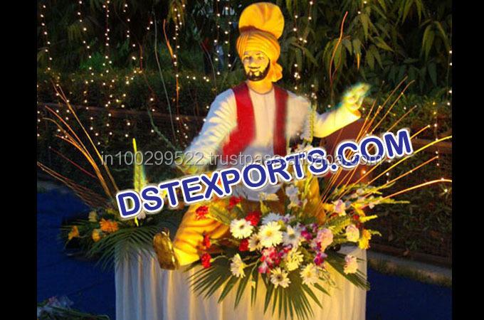 Punjabi Wedding Entrance Statues/ Wedding Welcome Punjabi Jatt ...