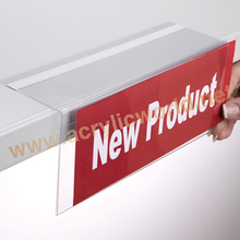 shelf talker display /price holder /supermarket price tag