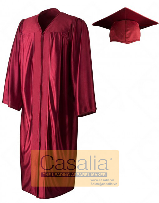 Wholesale Best Quality Doctor (PHD) Shiny Graduation Gowns and Caps For University [Pro]