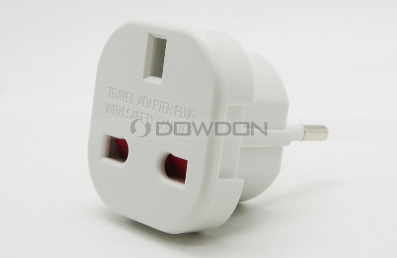 Newest European Plug Power Plug Adapter With Safety Shutter Mini ...