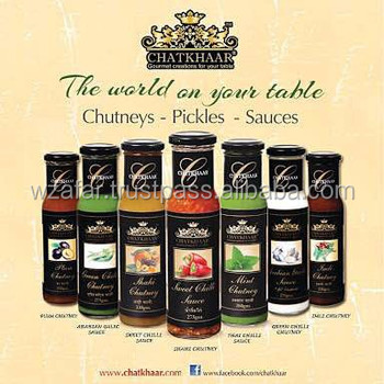 CHATKHAAR BRAND PREMIUM SAUCES & CHUTNEY IN OLIVE OIL