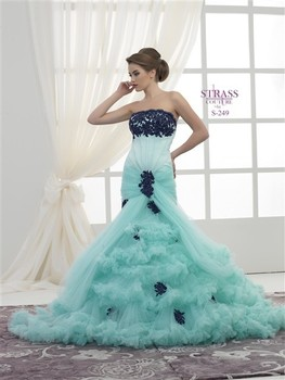Mermaid Style Mint Blue Wedding Dress Buy Engagement Dress Wedding Dress Product On Alibaba Com