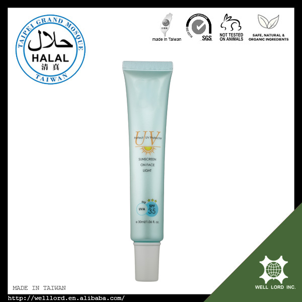 Middle East 30ml Halal Certify Plant Uv Whitening Sunblock Cream ...
