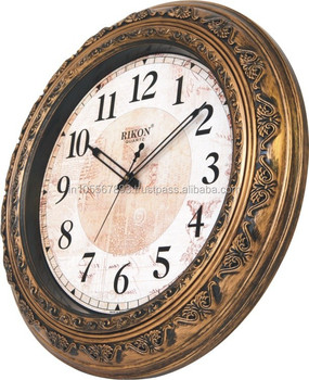 Rikon Antique Wall Clock