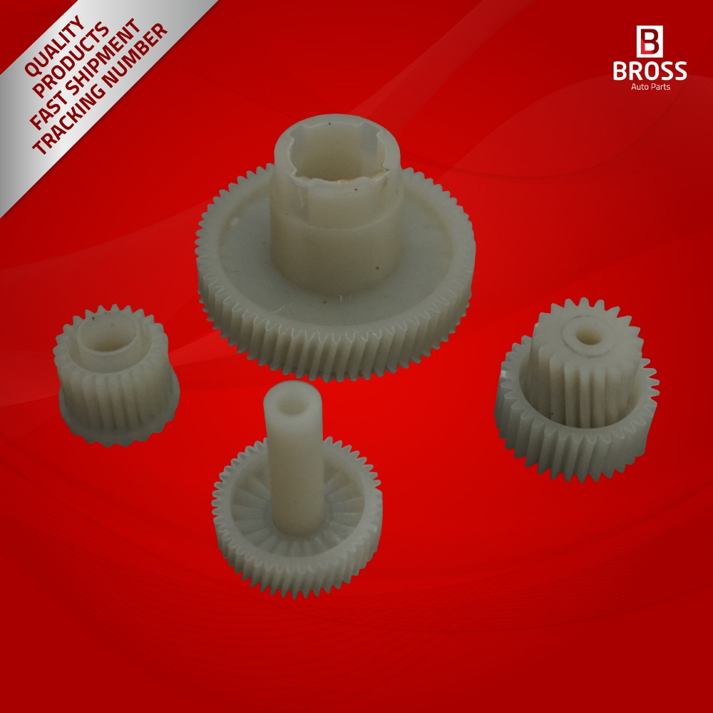 BGE545 4 Pieces Parking Brake Actuator Repair Gear Set for Range Rover Discovery L319
