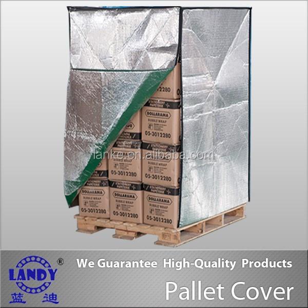 Housse pour palette pallet cover aluminum foil woven for Housse isotherme pour palette