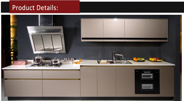 Hot Sale Grey Laminate Kitchen Furniture For Kitchen Design  Buy