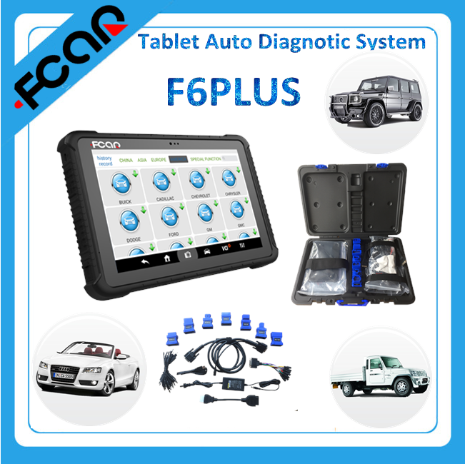WIFI wireless car diagnostic tool F6PLUS auto diagnostic system